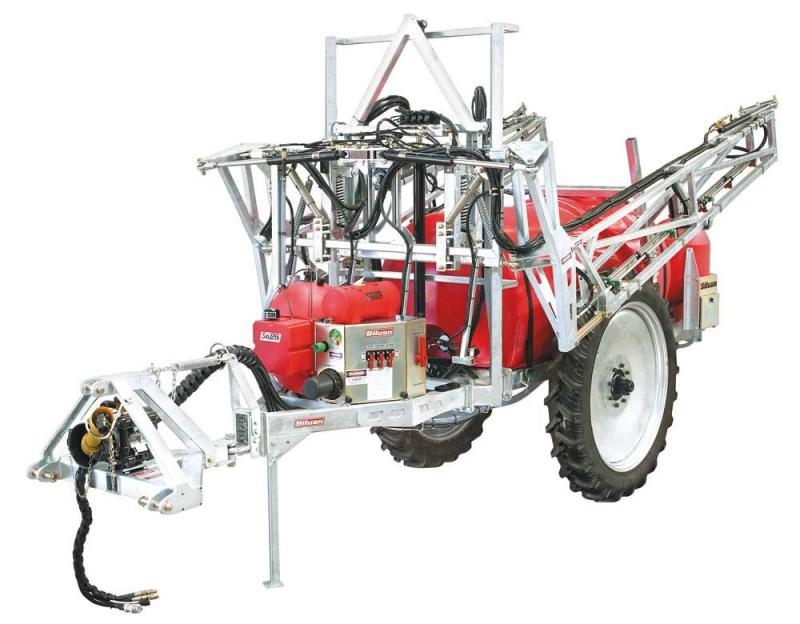 JV25-F  VEGETABLE TRAILED ROW KING SPRAYER, 2500 LITRE